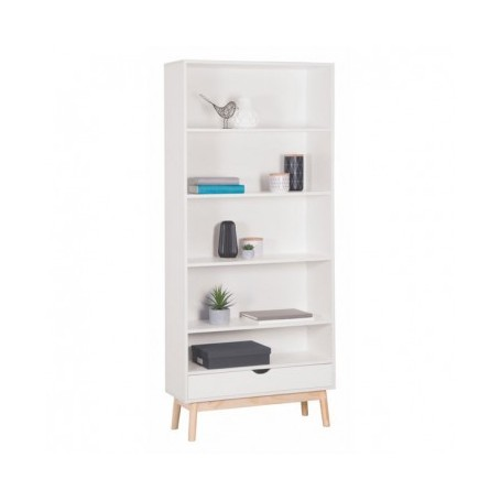 Cube cabinet NORD white