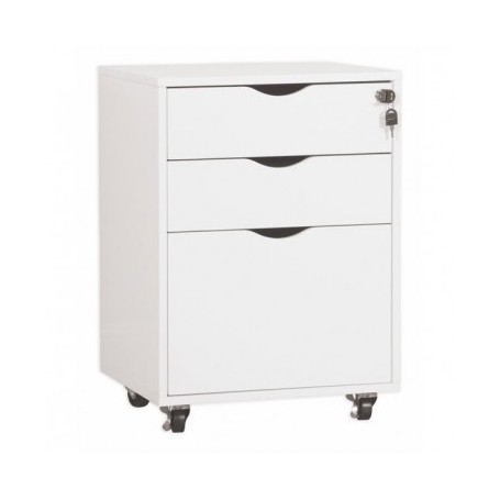Drawer chest NORD white