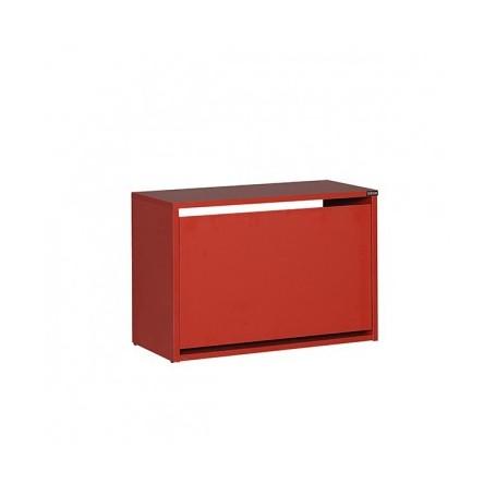 Shoe rack SPIRAL 110 red