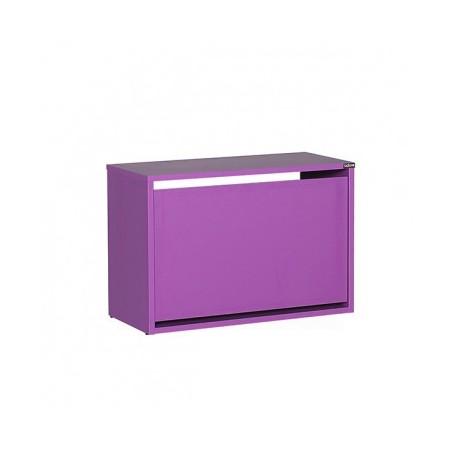 Shoe rack SPIRAL 110 purple