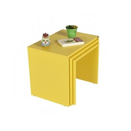 Klubska miza SAAMBA 103 rumena