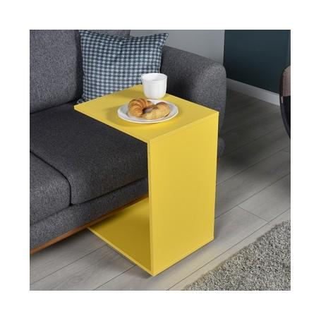 Klubska miza SAAMBA 109 rumena