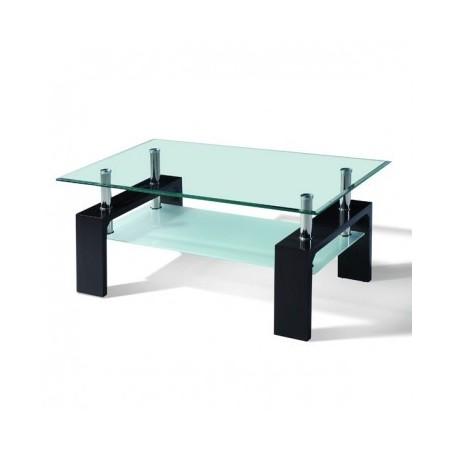 Klubska miza LOJZA črna