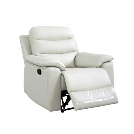Fotelj TINE mlečno bel