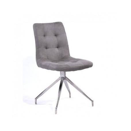 Stol TORO svetlo siv