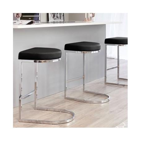 Barski stol BAR črn
