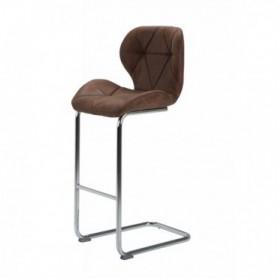 Barski stol NERI rjav