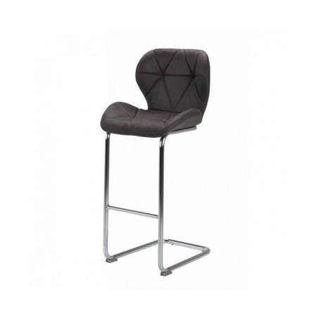 Barski stol NERI temno siv