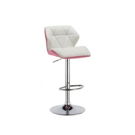 Barski stol WENNY roza