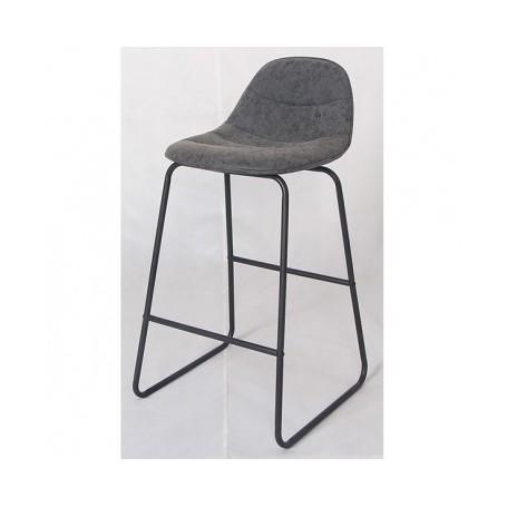 Barski stol COSBY svetlo siv