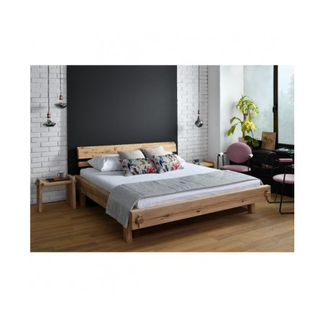 Organska postelja ROYAL 180x200 hrast