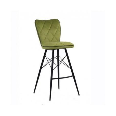 Barski stol PRESTIGE zelena