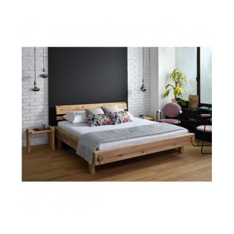Organska postelja ROYAL 160x200 hrast
