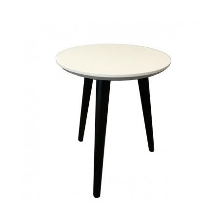 Coffee table TINNY black+white