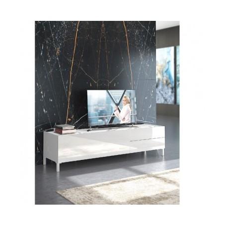 TV miza MIKI 1 bel marmor
