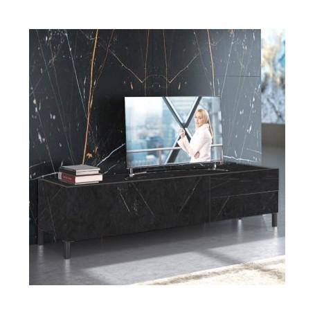 TV miza MIKI 1 črn marmor