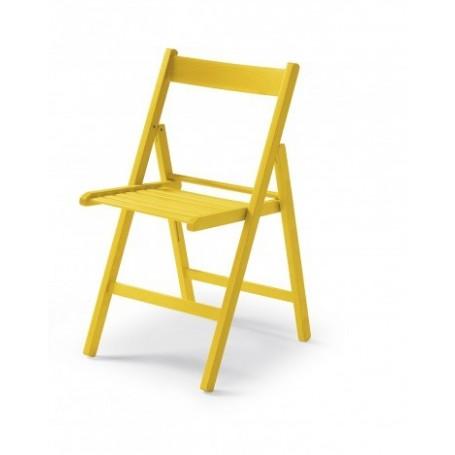 Zložljiv stol CUTE rumen