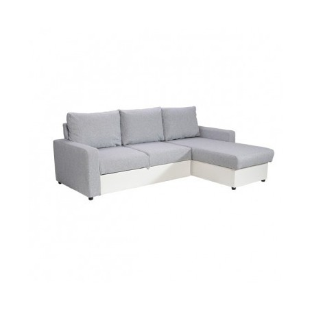 Sedežna garnitura MERCI bela + siva