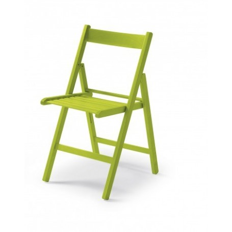 Zložljiv stol CUTE zelen