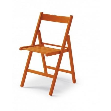 Zložljiv stol CUTE oranžen