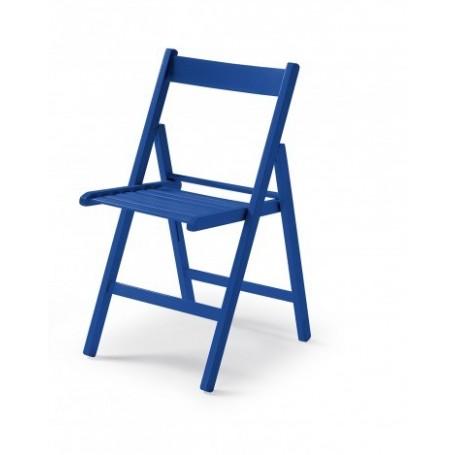 Folding chair CUTE blue
