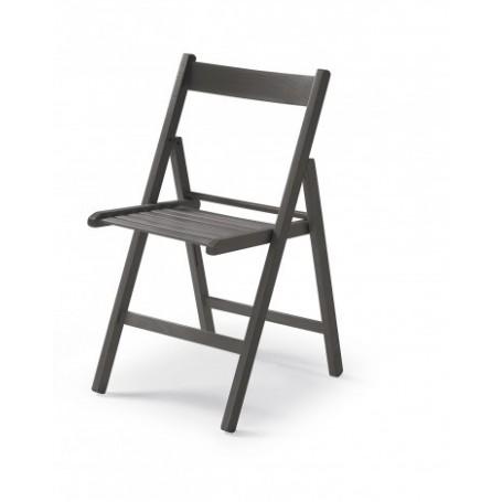 Folding chair CUTE gray