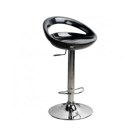 Barski stol GOMEZ II črn