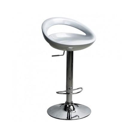 Barski stol GOMEZ II srebrn