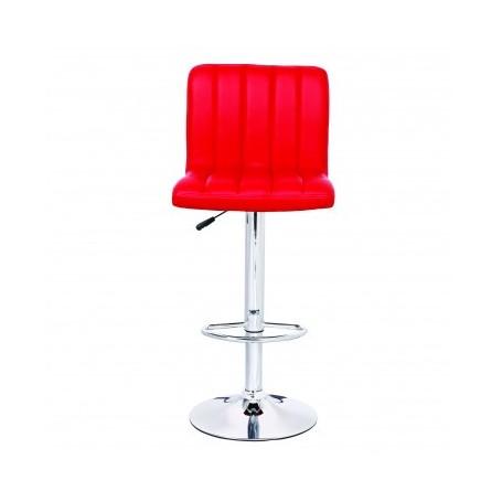 Barski stol NOBBLES II rdeč