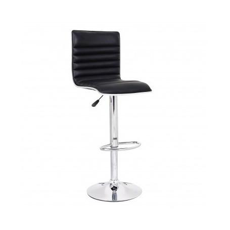 Barski stol LINIJA II črn
