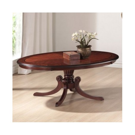 Coffee table RUSTIKA oval