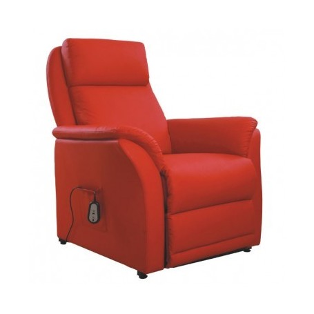Vibration relax chair EDO red