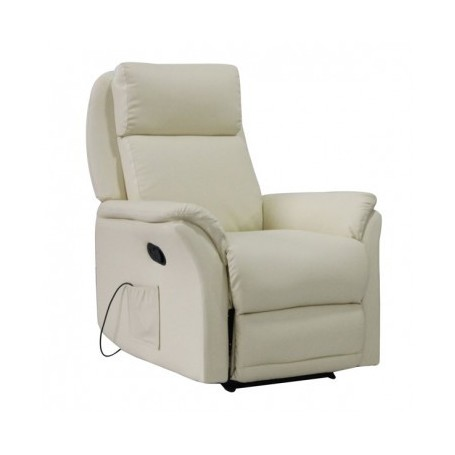 Vibration relax chair EDO beige