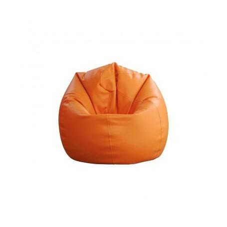 Sitting bean SMALL orange
