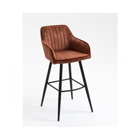 Barski stol OLIVER rjava