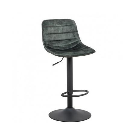 Barski stol ANVINA temno zelena