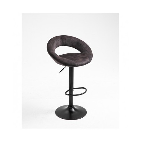 Barski stol VANILIA antracit