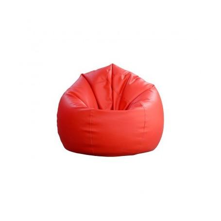 Sitting bean BIG red