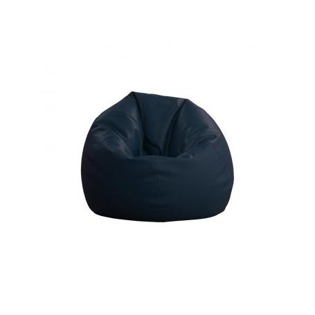 Sitting bean BIG dark blue