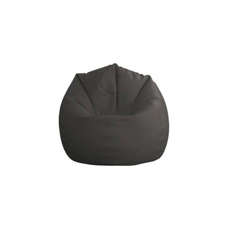 Sitting bean BIG dark grey
