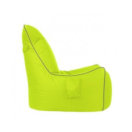 Sedalna vreča GIFT zelena+siva