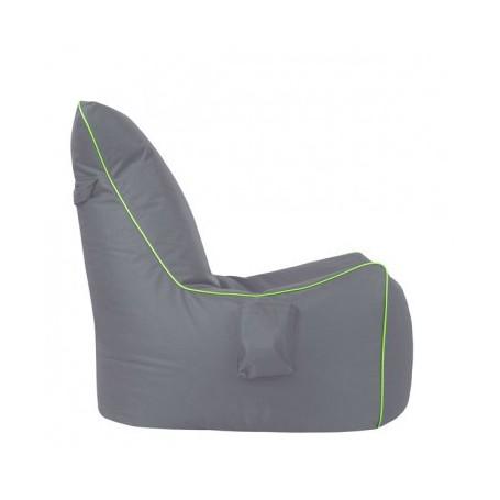 Sedalna vreča GIFT siva+zelena