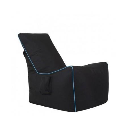 Sedalna vreča GIFT črna+modra