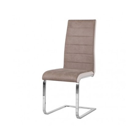 Chair TIP taupe+white