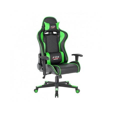 Pisarniški stol LEN črn+zelen
