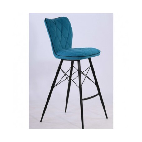 Bar chair PRESTIGE petrol
