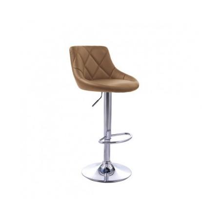 Bar chair ROBIN II cappuccino