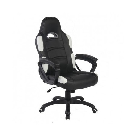 Office chair VISAM black+white