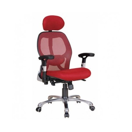 Manager chair BOBI red