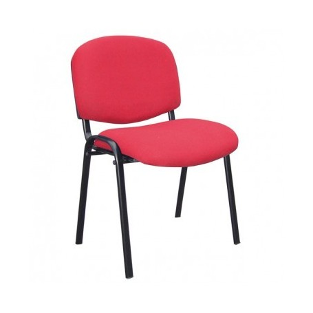 Visitor chair NIKO red